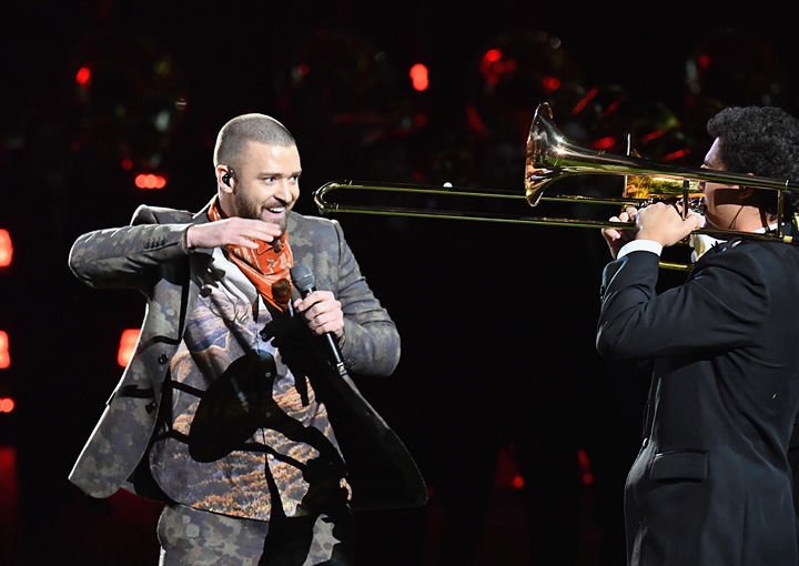 JT pulls a rabbit out of the trombone