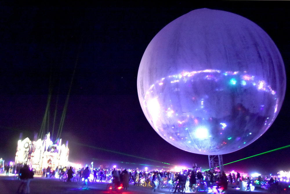 The disco ball from Curve Ball got shipped to the burn afterwards sans the Phish set