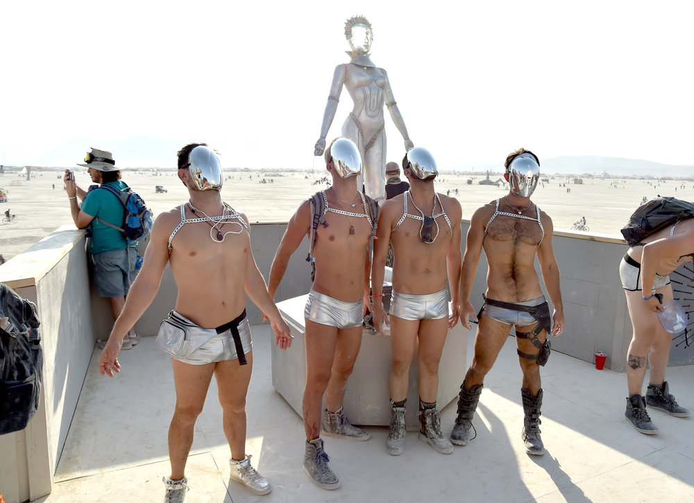 The human element is what really makes Burning Man...you are the entertainment and the entertained, we bring the party to one of the most barren places in the world and crush it