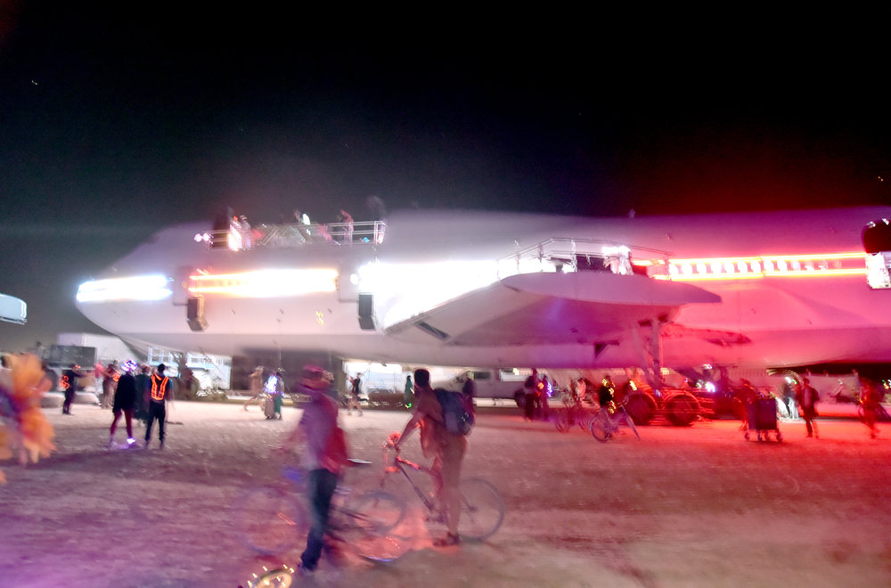 The 747 was going to roll this year as an art car, but reality is a hard lesson best served on the PLAYA