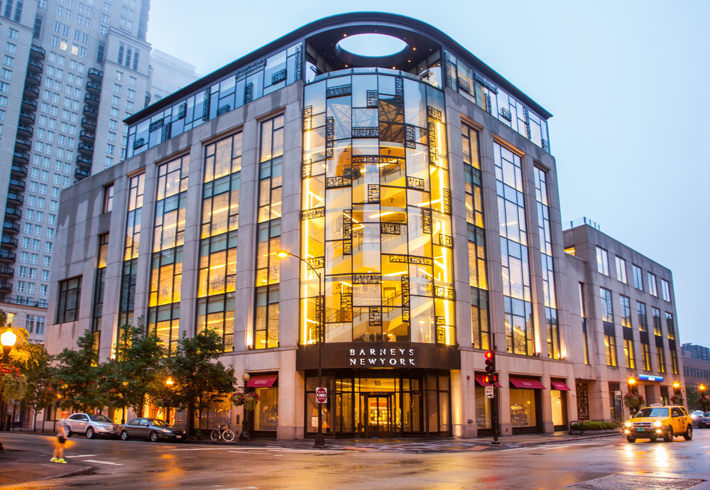 Barneys New York <br> 15 E Oak, Chicago <br> 94,600 SF Retail