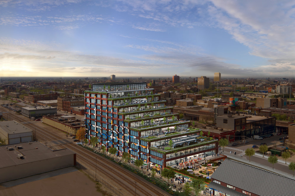 375 N Morgan - SE AERIAL RENDER facing northwest.jpg
