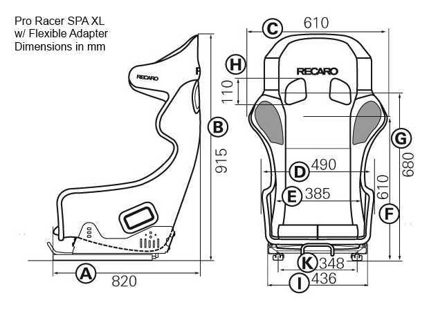 Track First Recaro Aftermarket And Auto Racing Seats Recaro Pro