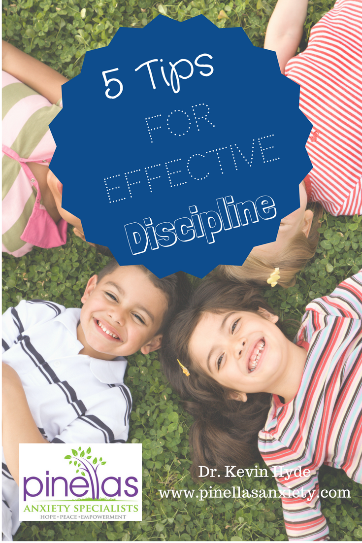 Dr. Kevin Hyde can help you learn parenting skills to improve child discipline. Palm Harbor, FL.