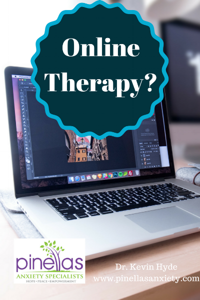 Dr. Kevin Hyde offering online therapy for anxiety, stress, worry, and panic for Florida residents.