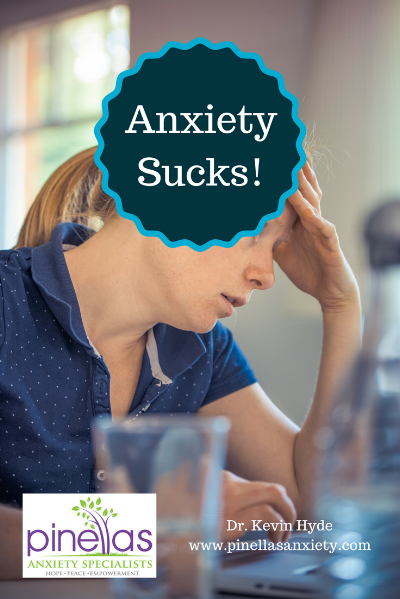 Dr. Kevin Hyde, therapist Palm Harbor treating anxiety and stress.
