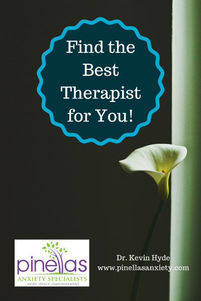 Find the right therapist for you, Palm Harbor, Florida