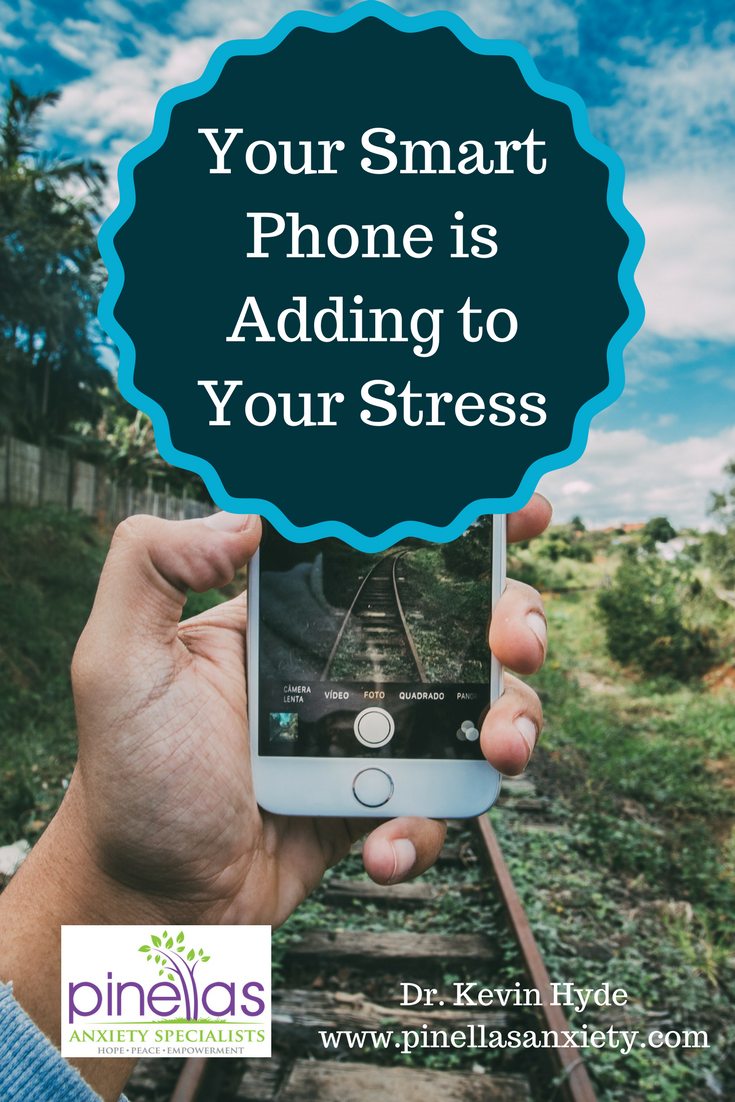 Dr. Kevin Hyde, psychologist can help you overcome smart phone addiction at his Palm Harbor counseling practice.