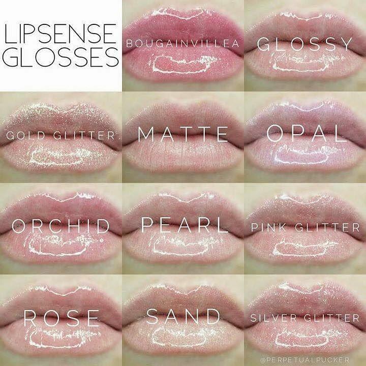 LipSense Glosses