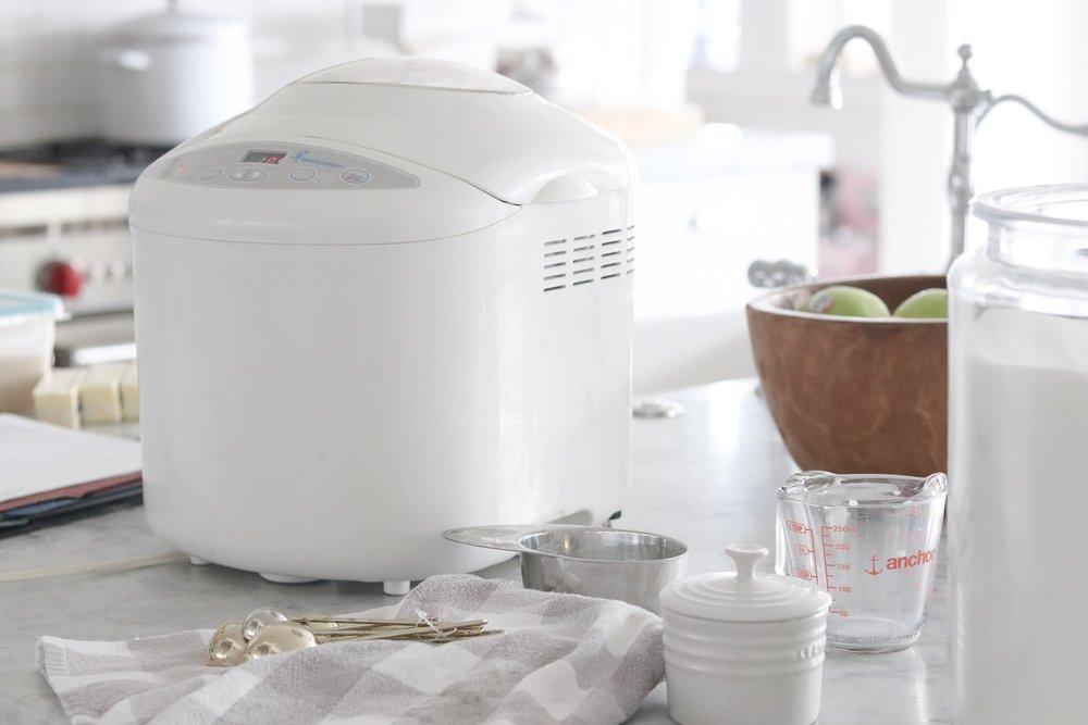 - INGREDIENTS:1 Cup Milk (room temperature)1 Egg3 cups flour2 Tablespoons sugar1 Teaspoon salt4 Tablespoons butter (room temperature)2 Teaspoons yeast