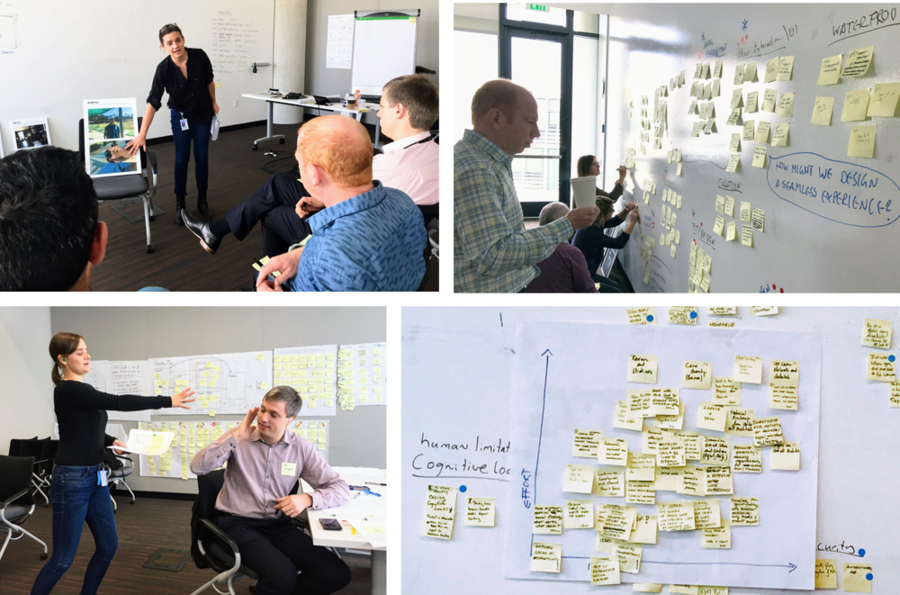 I collaborated with product management and engineering leads to create a user-centered hearable product strategy and roadmap during our design sprint.