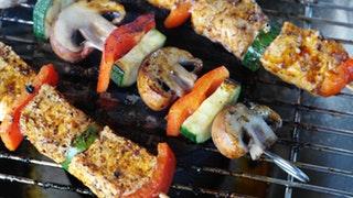 Grönsaker och protein. Synd att deffmat måste vara så tråkigt.