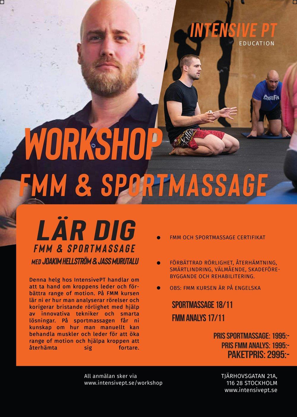 workshop personlig tränare