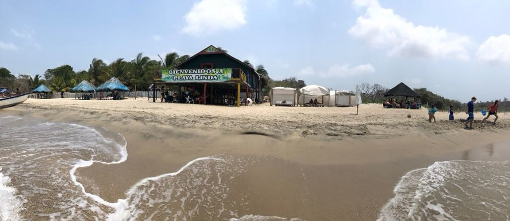The full extent of the accommodations at Playa Linda.