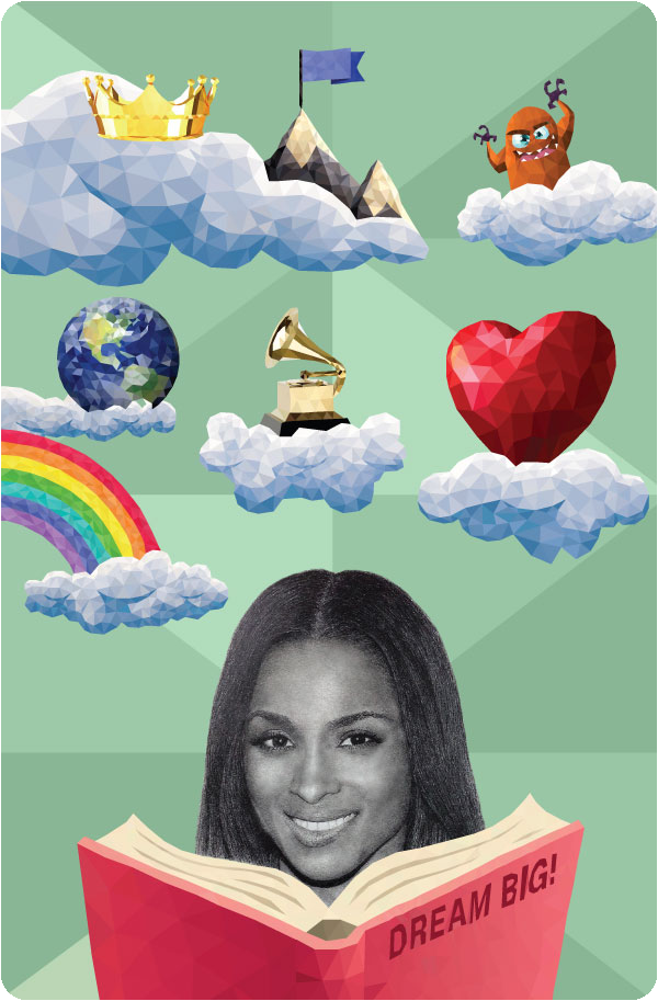 One-of-a-kind   DREAM BIG: Anything is Possible   library card, Ciara