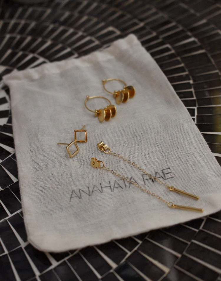 Jewelry Care  - Each piece of Anahata Rae jewelry is hand-crafted, often with rare and/or unique stones and components, all of which requires delicate handling.After each wear, gently wipe with a soft cloth and either hang up or store in a dry cool place. Please note that many of our pieces are made with wire-wrapping techniques, which should be delicately handled and stored in an appropriate setting.Avoid undue moisture and should your item get wet, make sure to dry it off. Certain metals and plating (specifically gold-plated) can tarnish over time when exposed to chemicals such as pool and sea water, hair spray, perfume and lotions. It's recommended to put your jewelry on last to minimize the contact with these chemicals.