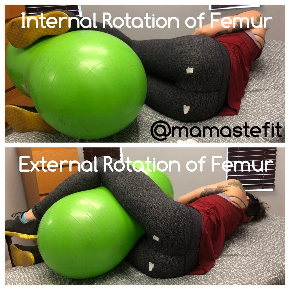 internal external rotation peanut ball.JPG