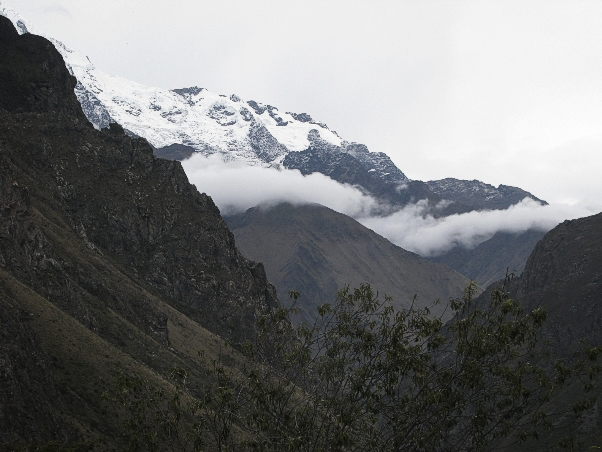 View from 2nd Day on the Inca Trail