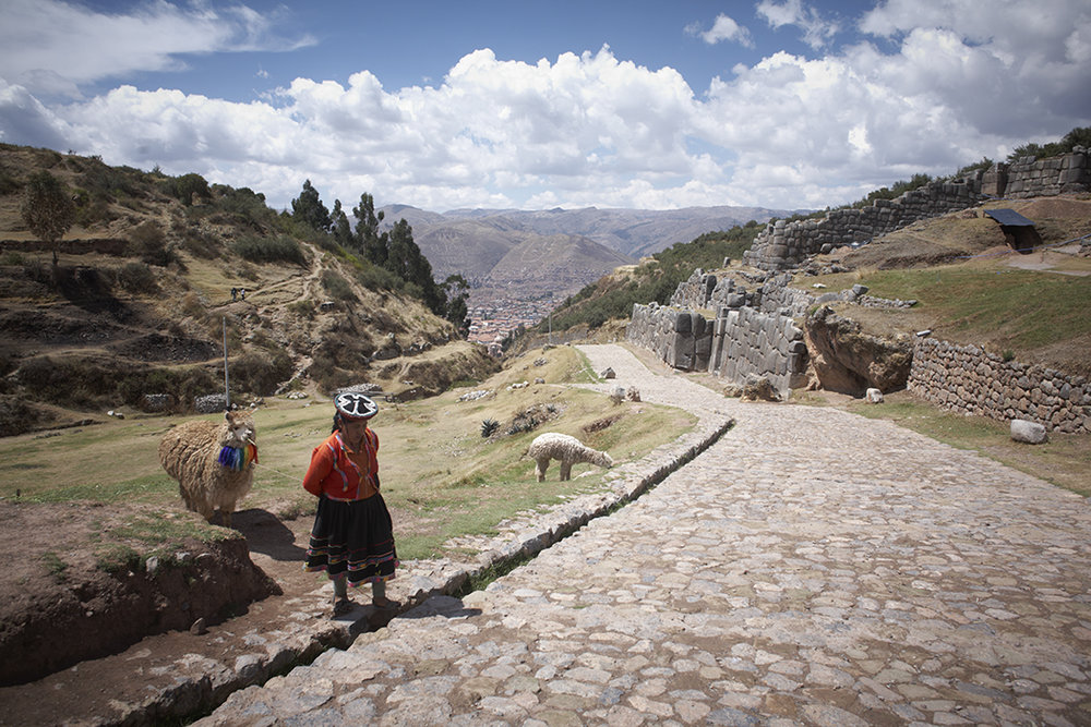 Exploring just outside Cusco 2 days before the big hike