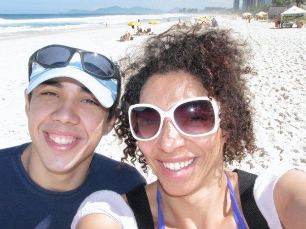Diogo & Yours Truly near Barra De Tijuca