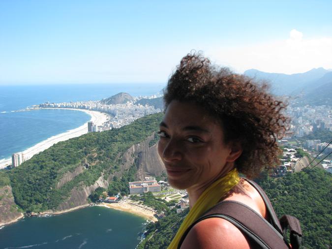 Yours Truly at Pão De Açucar (aka Sugarloaf Mountain)