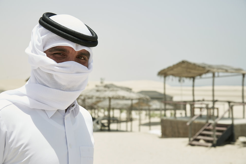 Amir, sand dune driver (from Pakistan)