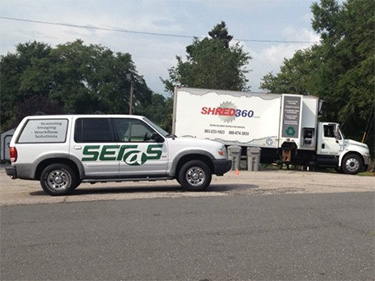 Seras and Shred360 partner for community shred day
