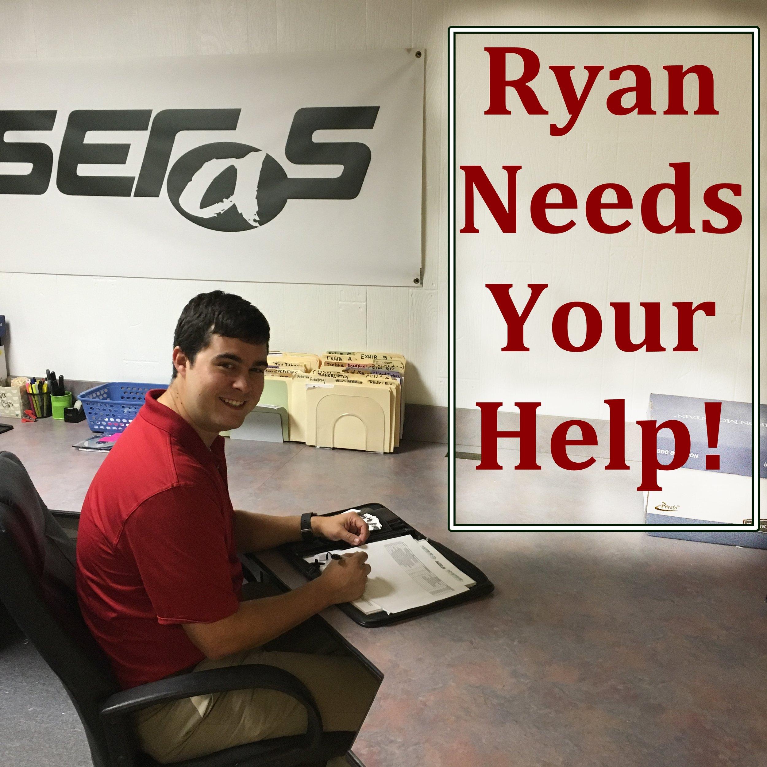 ryan-needs-your-help