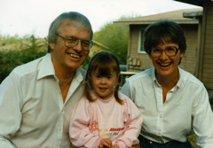 Jerry, Kelly and Judy, a couple of years before starting Down Home Ranch