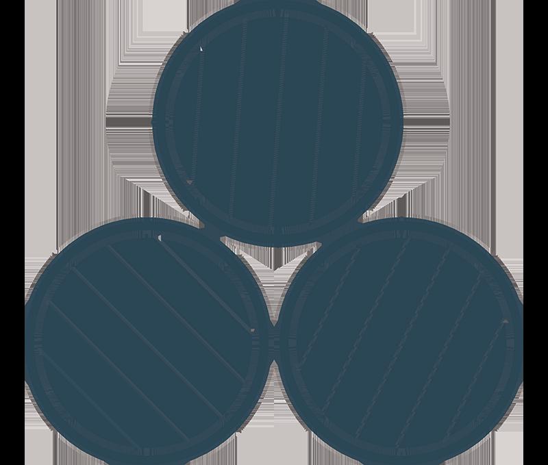 3 Whisky Barrels Blue BG icon The Brindiamo Group