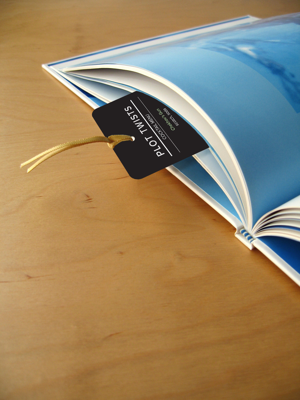 Your menu doubles as a bookmark.