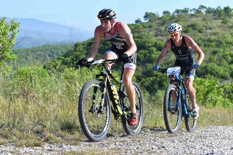 Off-road triathlon training