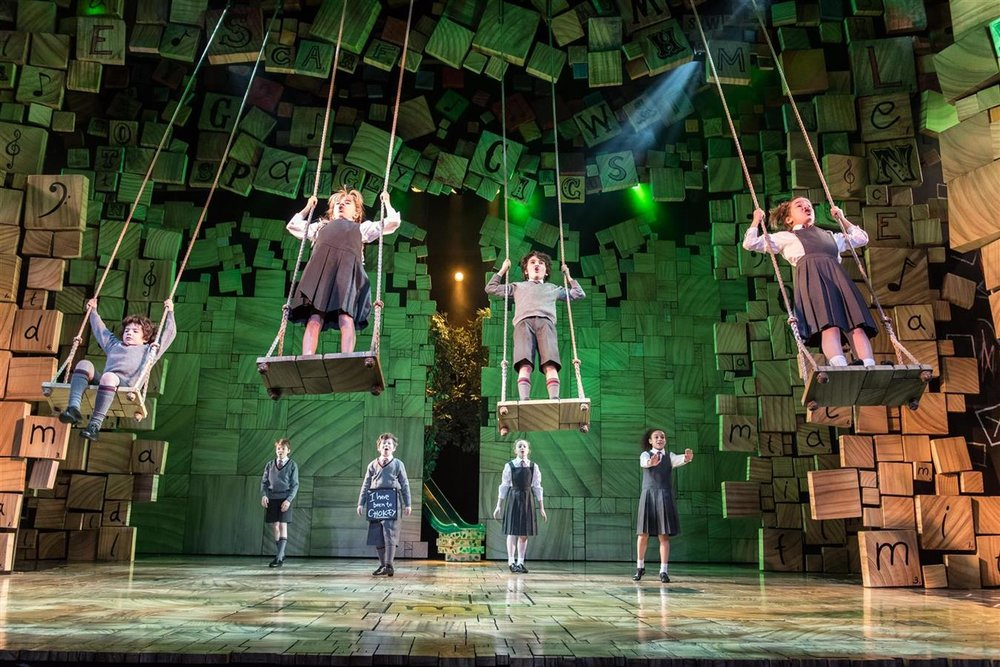Matilda the Musical - Cambridge Theatre, London
