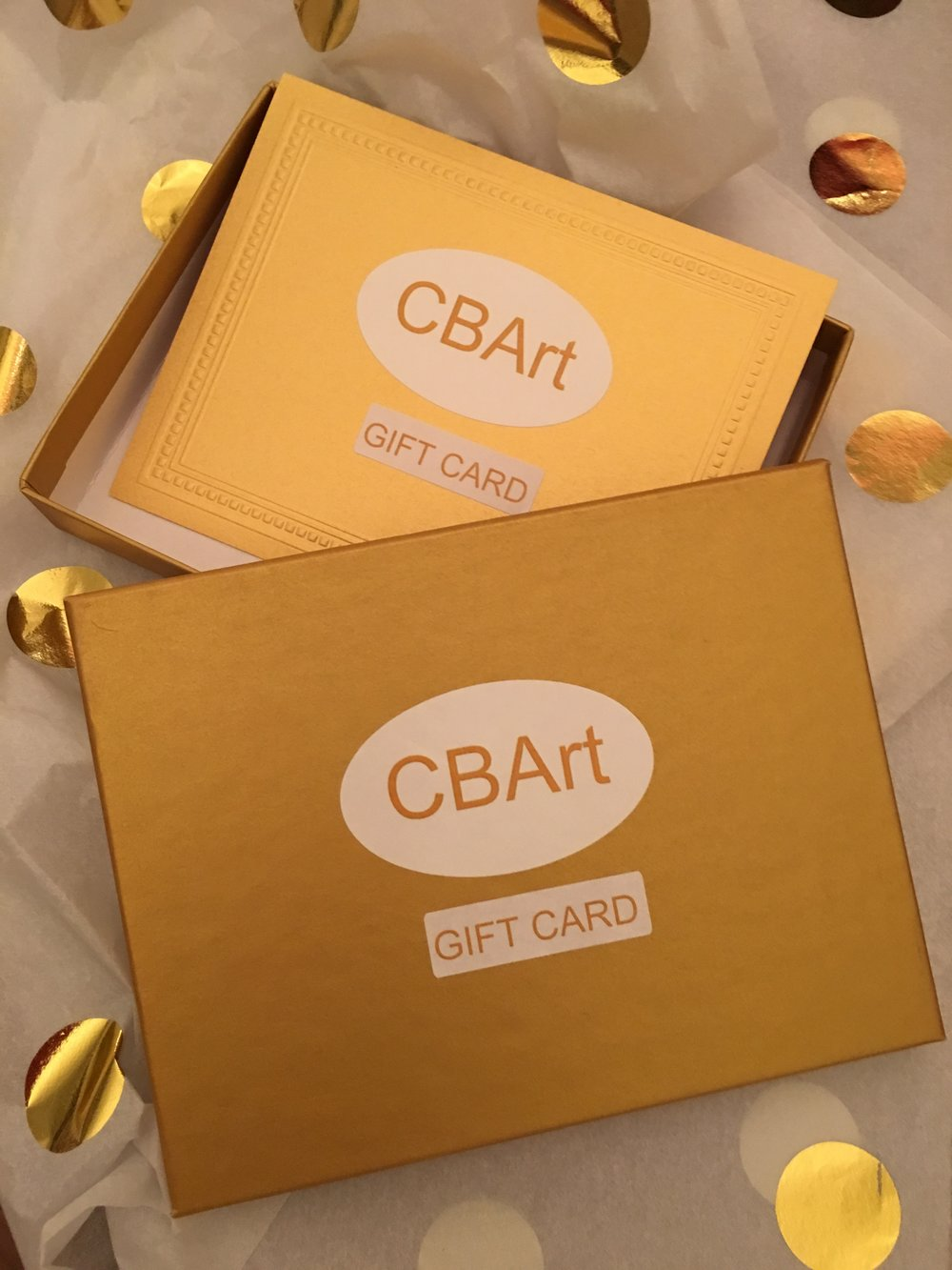 GIFT CARDS -