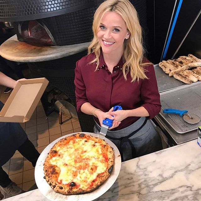 Everyone is excited about #nationalpizzaday 📷  by @reesewitherspoon