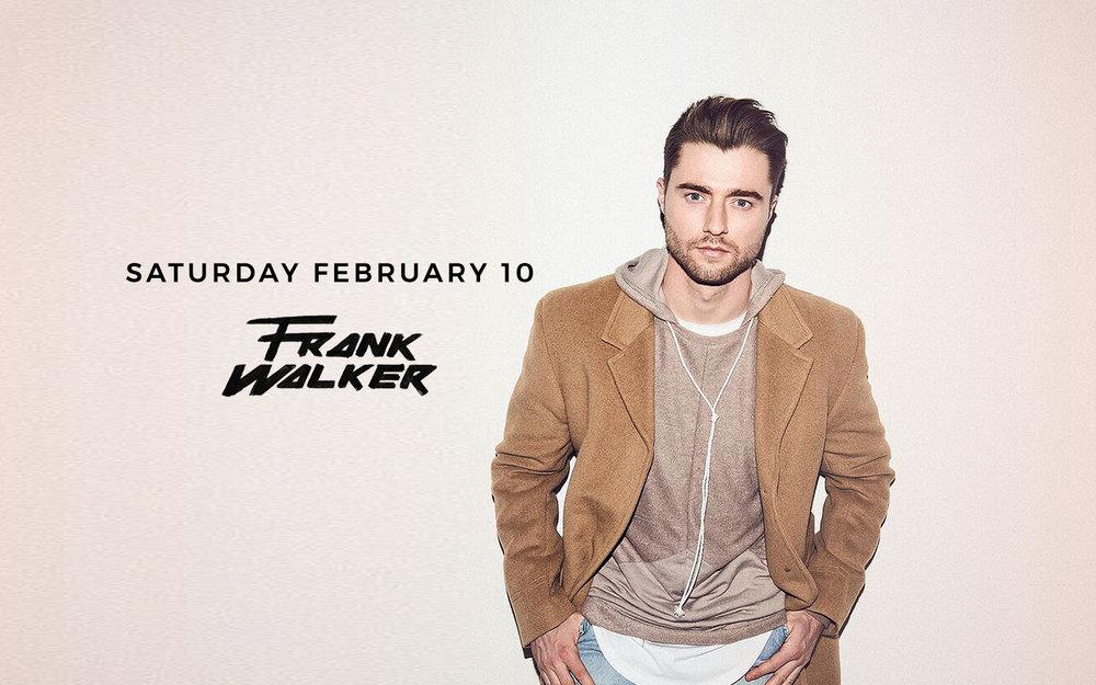 Frank Walker - Sat. Feb 10th