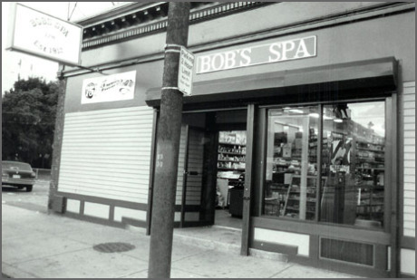 Bob's Spa, 128 South Street, 1987.  Download  high resolution .tif file.