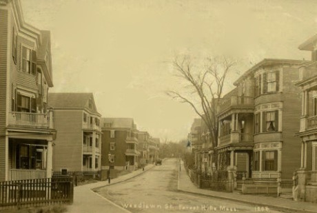 Woodlawn Street, circa 1900.
