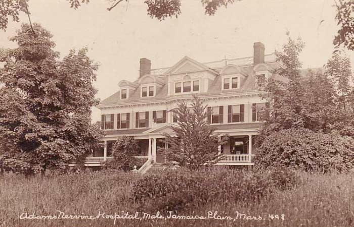 One of the Adams Nervine Asylum buildings.