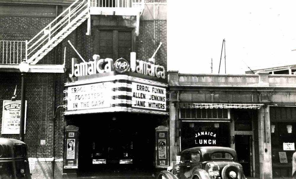 The Jamaica Theater was located in Hyde Square and the Madison between Chestnut Avenue and Estrella Street. Photograph from Jamaica Plain Historical Society archives.