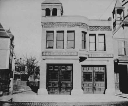 Egleston Square Firehouse. Photograph courtesy of Boston Public Library.