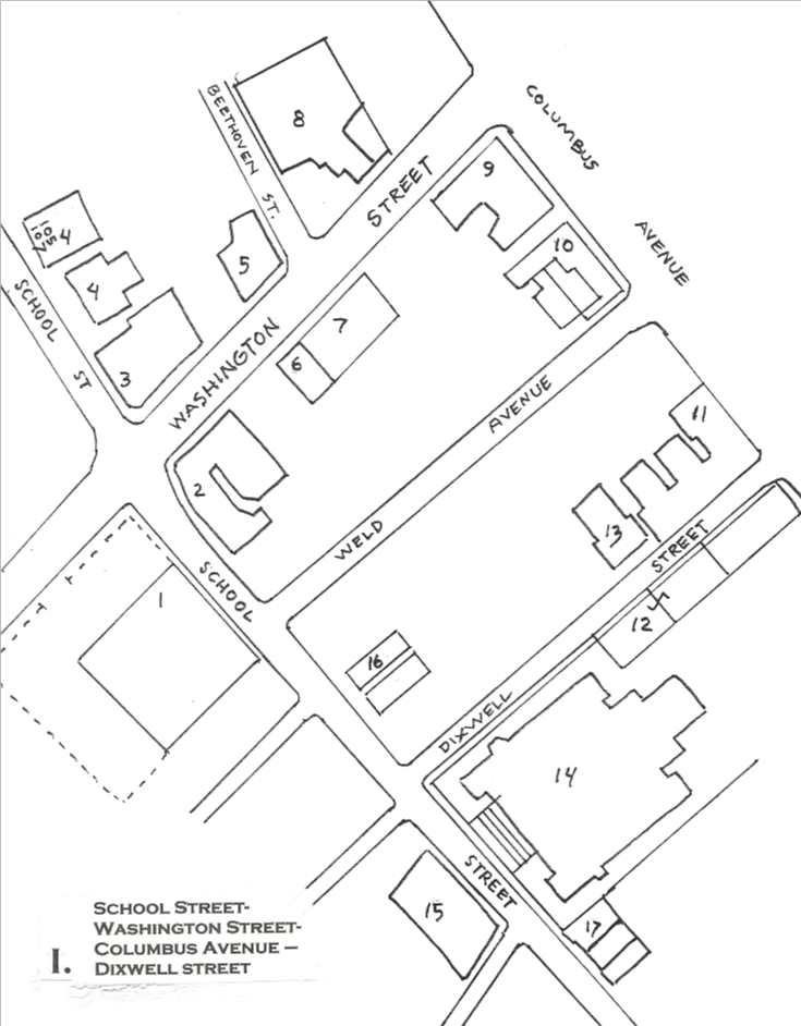 The Architectural History Of Egleston Square