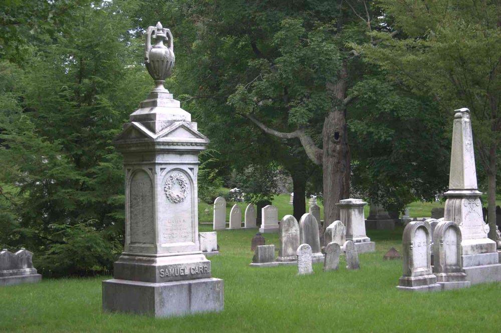 Forest Hills Cemetery. Photograph courtesy of Charlie Rosenberg.