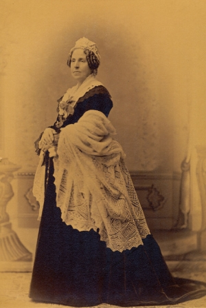 Lucy Orne Nichols Bowditch.Courtesy First Church of Jamaica Plain.  Download photograph at high-resolution.