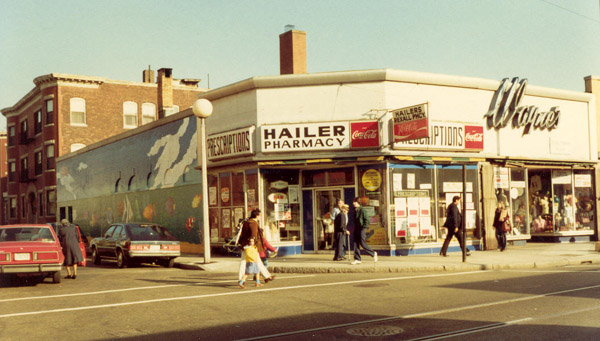 Hailer Pharmacy. Jamaica Plain Historical Society archives.