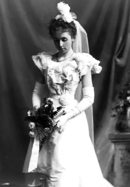 Campbell as a Debutante. Courtesy UBC Press