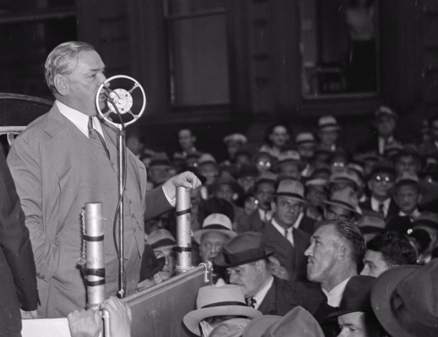 Curley speaks on nomination night, 9/20/1938.  Jamaica Plain Historical Society archives.  https://www.digitalcommonwealth.org/search/commonwealth:kk91g4508