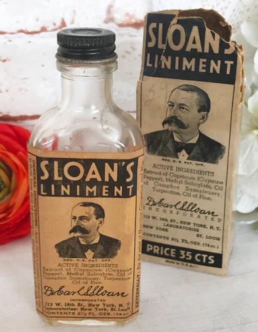 Sloan's Liniment, WonderCabinetArts