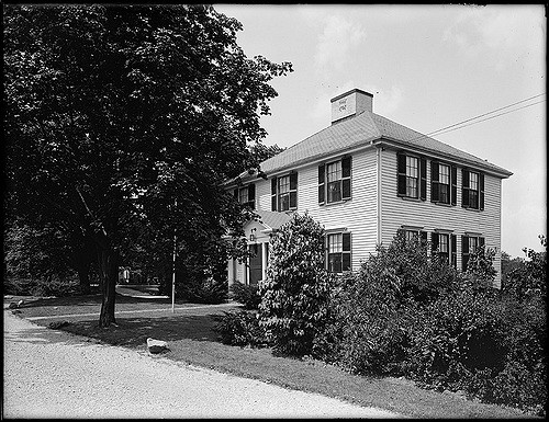 Goddard House at 235 Goddard Ave in Brookline, MA. Courtesy Boston Public Library.  Download