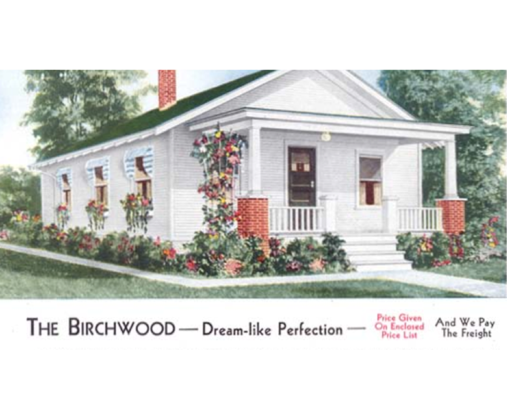 House style from the 1939 Aladdin catalog Clark Historical Library